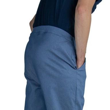 Het materiaal van de broeken van DAPR hebben de eigenschap slijtvast te zijn en dagelijks gewassen te kunnen worden. Optimaal voor aangepaste kleding.