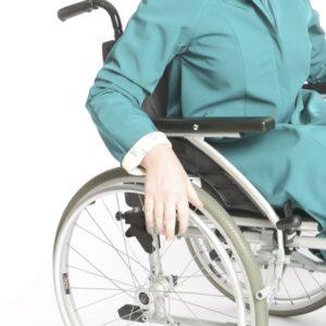 tweedelige rolstoeljas Dafne